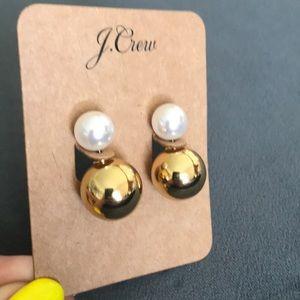 Jcrew Reversible stud earrings